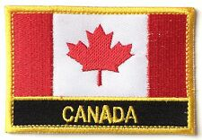Canada Embroidered Sew or Iron on Patch Badge