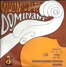 Corde à l'unité Violon DOMINANT VIOLIN SALTE - 132 1/4 - Ré