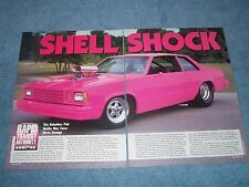 "1979 Chevy Malibu Vintage Pro Street Article ""Shell Shock"""