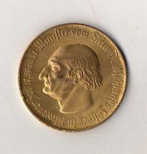 10000 mark-moneda-ministro de piedra 1757-1831 - Notgeld de la provincia de Westfalia 1923