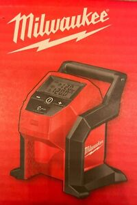 NEW Milwaukee 2475-20 M12 Compact Cordless Tire Inflator Bare Tool-Free Shipping