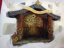 "Hawthorne Village ""holy Night Creche"" Thomas Kinkade Nativity"