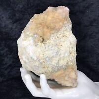 "6""2.13Lb Large Geode Crystal Rattler Whole Unopened Quartz Break Your Own Geodes"