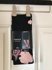 NWT Torrid Fold Over Skirt Black Floral ~ Size 3 (22/24)