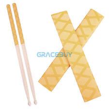 Mr. Power Yellow Drum Stick Wrap Grips Anti-slip Drumsticks Handel Rapp Durable