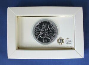2011 Royal Mint 1oz Silver £2 Britannia coin in Presentation Box