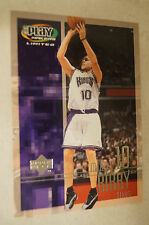 NBA CARD - Upper Deck - Play Makers Ltd Series - Mike Bibby - Kings