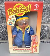 Furga Babisol Sun & Beach  Doll Mib#Si Abbronza Al Sole