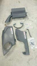 GP Slip On Exhaust w/ Carbon Trim TaylorMade Racing TMRS7 07-08 Suzuki GSXR1000