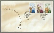 1998 Canada Christmas FDC. First day Cover