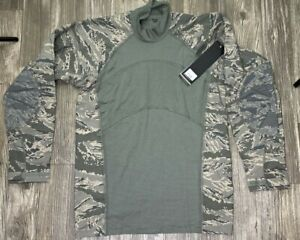 USAF Massif Airman Battle Shirt (ABS) Size Large Flame Resistant Stretch