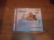 Rossmann Babydream Songs 1 Vol. 1 mit Lieder Textbuch (Music CD 2001) NEW