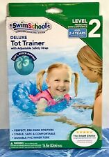 SwimSchool Deluxe TOT TRAINER Vest Durable PVC Inner Tube Ages 2-4 Years BX387