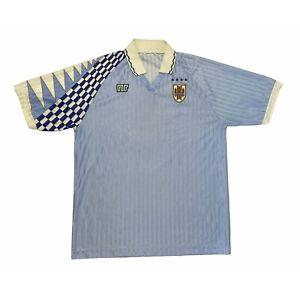🔥Vintage Uruguay 1992/93 Home Football Shirt NR Original #9 - XL🔥