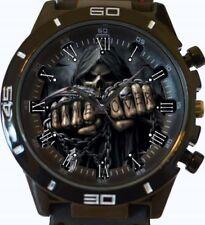 Gothic Fist Skull New Gt Series Sports Wrist Watch FAST UK SELLER