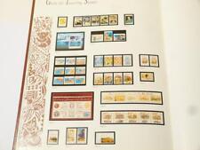 La collection de 1990 Australian STAMP Deluxe Year Book & étui INUTILISÉE *