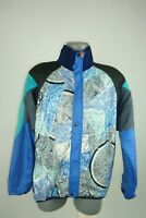 Quirky Vintage Castelli Bicycle Cycling Fleece Lined Mens Jacket Top Size M ª