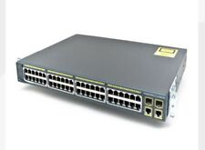 Cisco  Catalyst (WS-C2960-48PST-L) 48-Ports Rack-Mountable Switch Managed