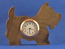 Scottish Terrier Mini Clock - w/ choice of insert