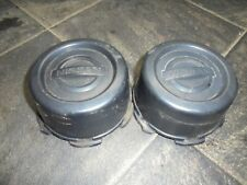 nissan 4x4 alloy wheel centre caps x2