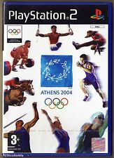 PS2 Athens 2004, UK Pal, Brand New & Sony Factory Sealed