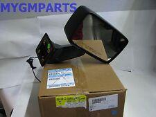 HUMMER H3 PASSENGER SIDE POWER MIRROR BLACK 2007-2010 NEW OEM 20836084