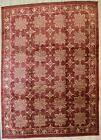 EORC FA7148RD10X14 Area 10' x 14' Handmade Afghan Wool Transitional RugsAll O...