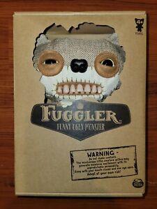 FUGGLER Teddy Bear Nightmare CHASE Funny Ugly Monster RARE GLOW IN DARK Plush