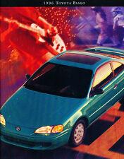 1996 Toyota Paseo 14-page Original Car Sales Brochure Catalog
