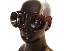 Soviet russian round safety goggles. Vintage steampunk goggles industrial