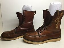 MENS IRISH SETTER BY RED WING WORK BROWN BOOTS SIZE 11 AA