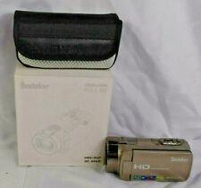 Besteker HD 1080P 24MP 16X Digital Zoom Video Camcorder Camera Gold