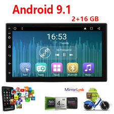 7inch HD 2Din Car Stereo MP5 Player Radio Android 9.1 IOS USB 2+16  Touch Screen