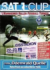 1988 HT Waldhof Mannheim, TE Zalaegerszeg, Eintracht Frankfurt, Hamburger SV ...