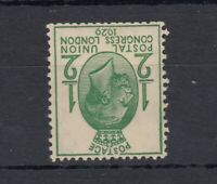 GB KGV 1929 1/2d PUC Inverted SG434 wi Mint MNH J5731