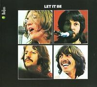 The Beatles Let It Be CD NEW digital remastered Get Back Lennon Ringo