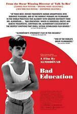 "BAD EDUCATION 27""x40"" Original Movie Poster One Sheet 2004 Pedro Almodovar Rare"