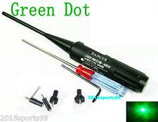 Green Dot Laser Bore Sight kit .22 to .50 Caliber for Rifles Handgun Boresighter