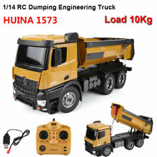 HUINA 1573 1/14 Large-ScaleRC Car 2.4GHz 10CH Dumping Truck Building Engineering