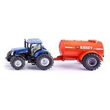 Tracteurs miniatures bleus 1:50