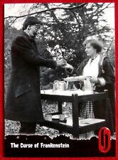 HAMMER HORROR - Series One - Card #35 - THE CURSE OF FRANKENSTEIN