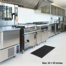 Durable Anti Fatigue Rubber Non-slip Drainage Floor Mat Restaurant Kitchen Bar