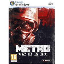 METRO 2033 [NEW & SEALED] PC Game