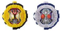 NEW Kamen Rider Zi-O DX KIVA Ride Watch & DX BLADE Ride Watch SET from Japan F/S