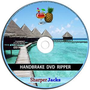 NEW & Fast Ship! HandBrake DVD Ripper / Converter / Transcoder - Windows Disc