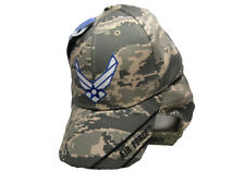 U.S. Air Force Wings ACU Digital Camo Embroidered Cap Hat Licensed (ACU #1)