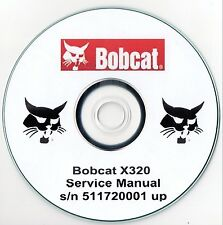 BOBCAT X320 Service Manual ** GRATIS UK POST **