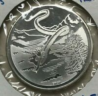 1995 Switzerland 20 Francs - Silver - Mythological Raetian Snake Queen