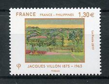 France 2017 MNH Jacques Villon JIS Phillipines 1v Set Art Paintings Stamps