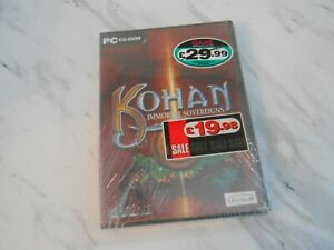 Kohan Immortal Sovereigns Strategy PC Game  ** BRAND NEW AND SEALED **